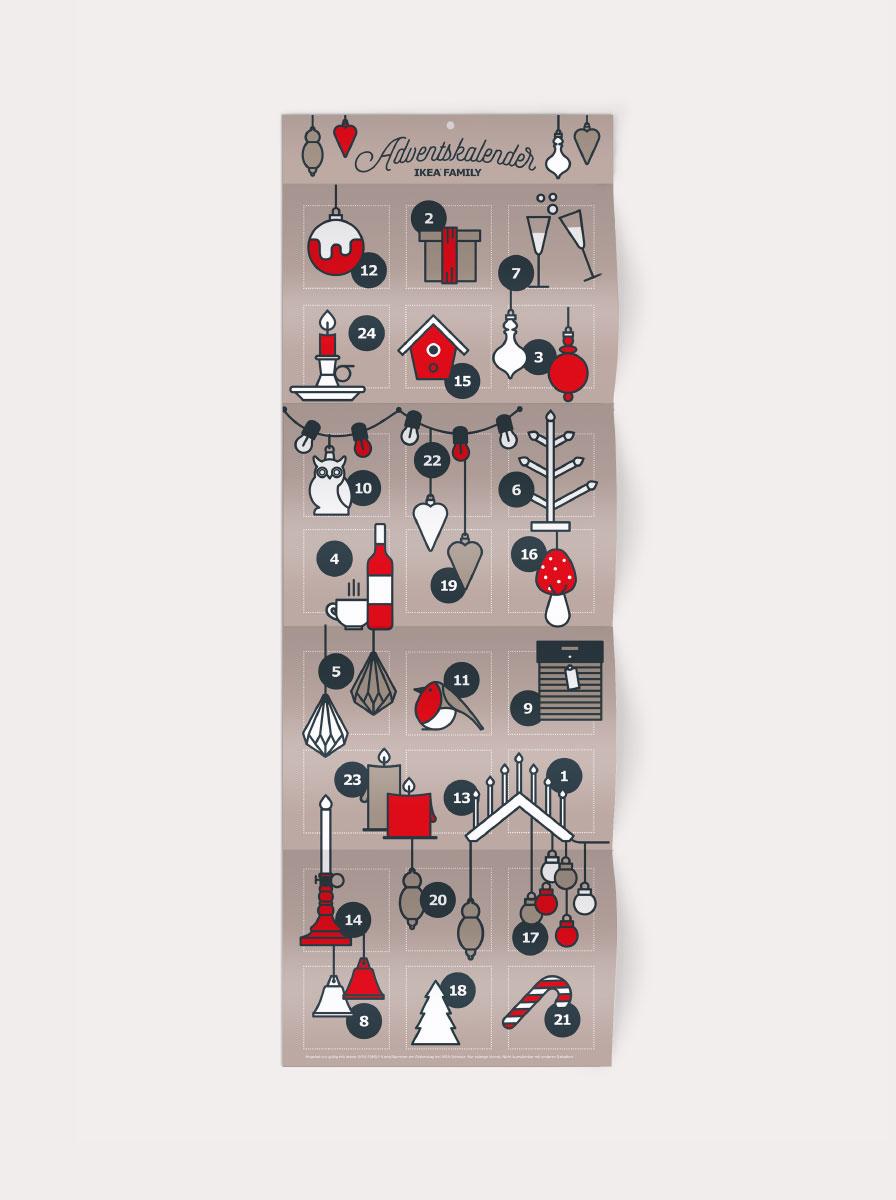 IKEA Adventskalender Vorschlag