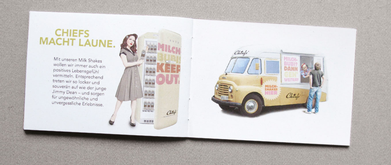 Chiefs Milkshake Mini-Booklet Kommunikationsmittel