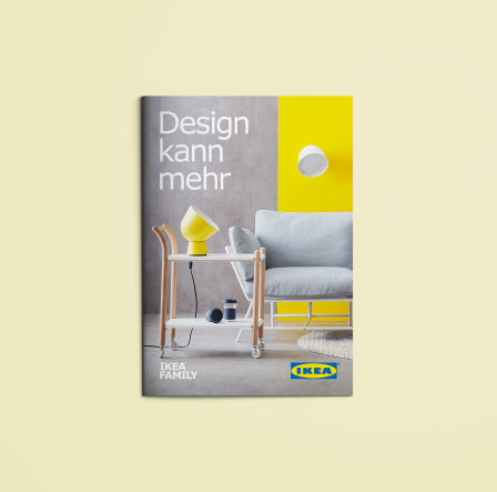 IKEA Designbooklet Broschüren Design Selfmailer