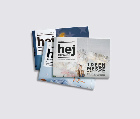 IKEA Hej Magazin Editorial Design