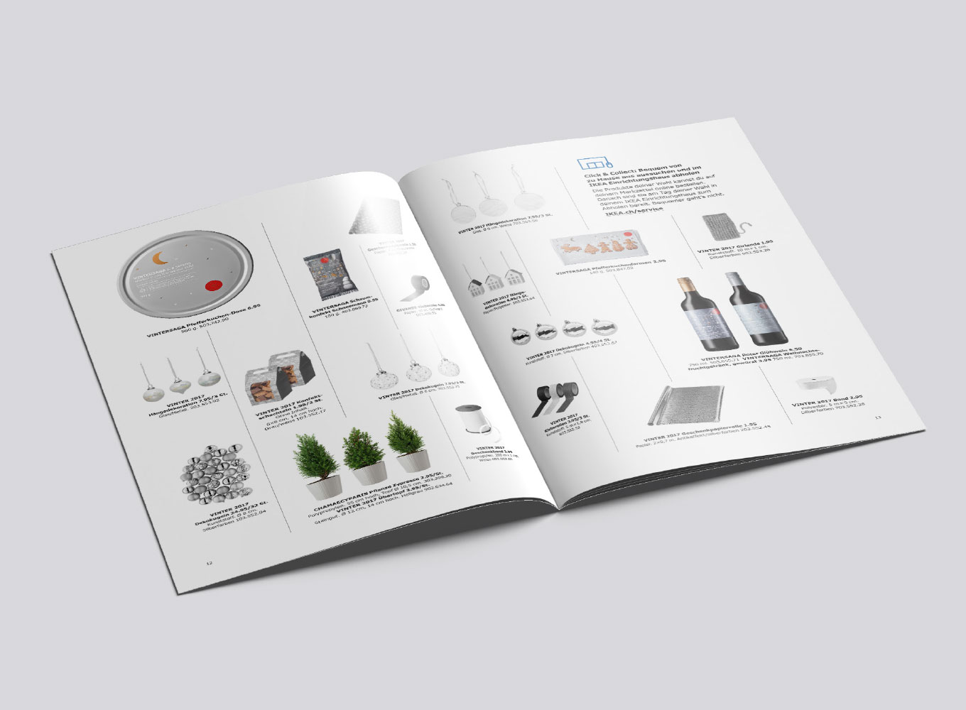 IKEA FAMILY Christmas Booklet