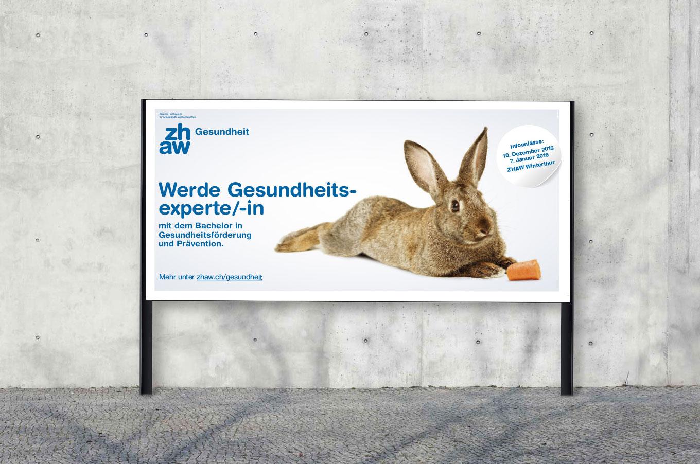 ZHAW Gesundheit Kampagne F12 Print
