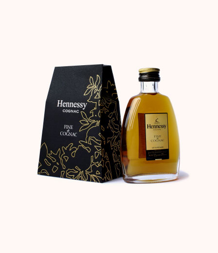 Packaging Design für Hennessy Cognac