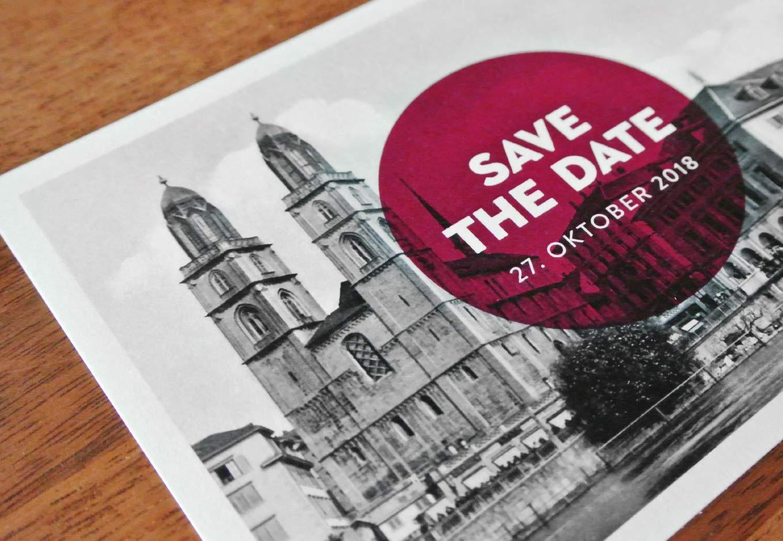 Save The Date Close up Hochzeitskarten Gestaltung