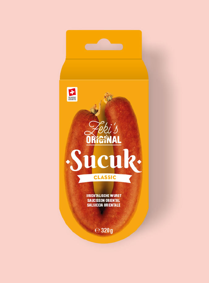 Marion Kaehler Sucuk Wurst Packaging