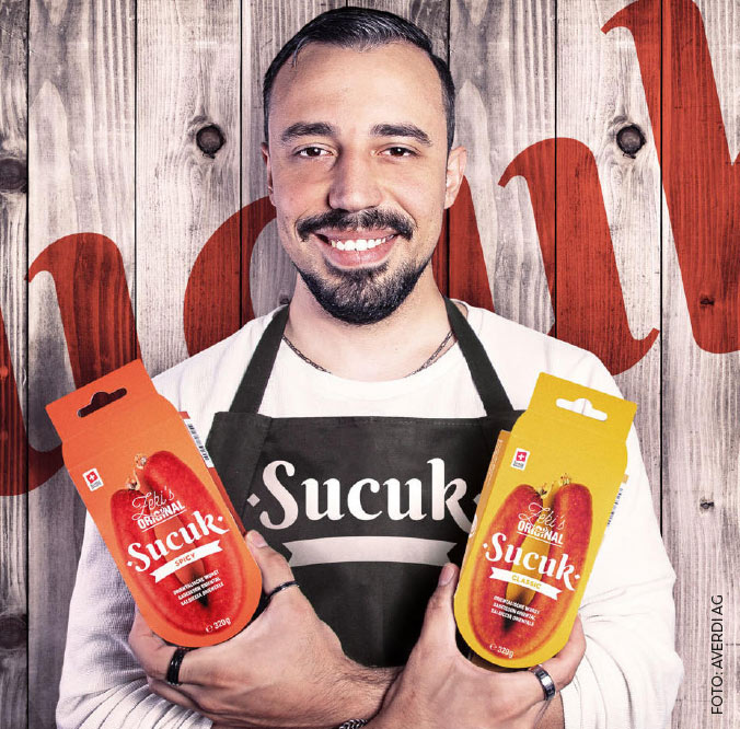Averdi Sucuk Wurst Packaging Zeki