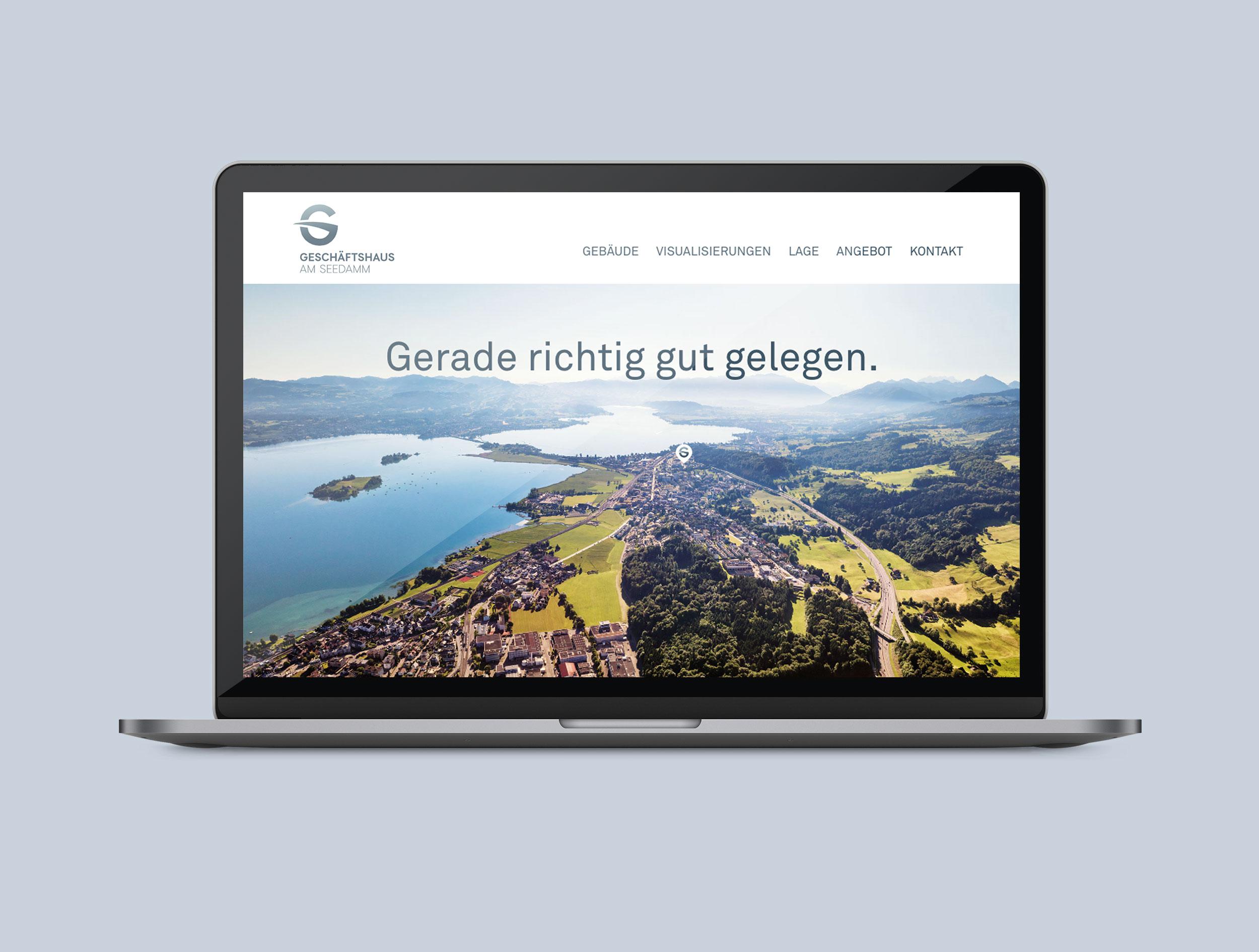 Geschaeftshaus am Seedamm Website